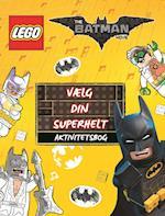 LEGO Batman: Vælg din superhelt - Aktivitetsbog (LEGO)