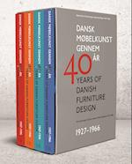 Dansk møbelkunst gennem 40 år