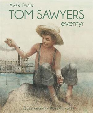 Bog, indbundet Tom Sawyers eventyr af Mark Twain