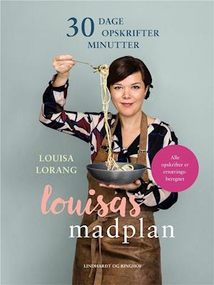 Bog, hæftet Louisas madplan af Louisa Lorang