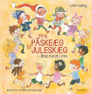 Bog indbundet Fra påskeæg til juleskæg af Lotte Salling