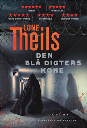 Bog, hæftet Den blå digters kone af Lone Theils