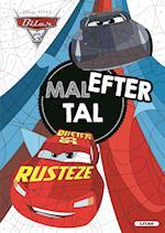 Biler 3 - Malebog (Mal efter tal) (Kan kun købes på ISBN 9788711696484 kolli 6 )
