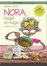 Nora bager en kage (Carlsens læsestart)