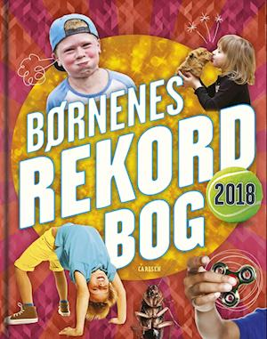 Bog, indbundet Børnenes rekordbog af Mikael Brøgger