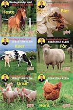 Pixi-serie 133 Bondegårdens dyr med Sebastian Klein