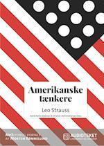 Amerikanske tænkere - Leo Strauss
