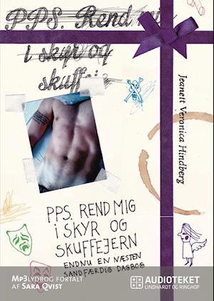 Billede af PPS. Rend mig i skyr og skuffejern-Jeanett Veronica Hindberg-Lydbog