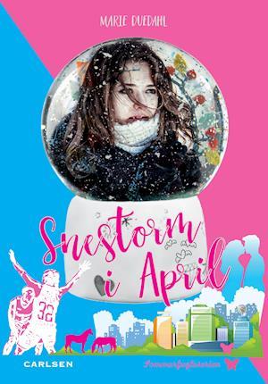 Snestorm i April