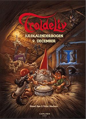 Troldeliv - Julekalenderbogen: 9. december af Sissel Bøe