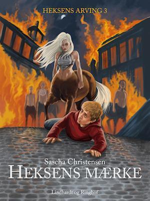 Bog, hæftet Heksens mærke af Sascha Christensen