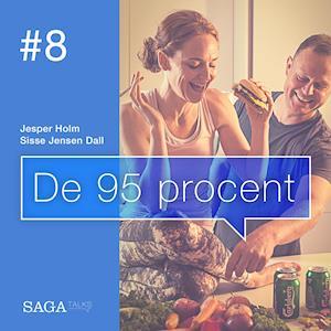 Billede af De 95 procent #8 - Bøffer eller biller? Alt om fremtidens proteinkilder-Jesper Holm-Lydbog