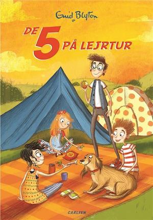 De 5 på lejrtur