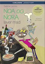 Noa og Nora laver mad