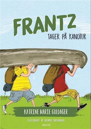 katrine marie guldager – Frantz-bøgerne (8) - frantz tager på kanotur-katrine marie guldager-bog på saxo.com
