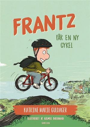 Frantz-bøgerne (7) - frantz får en ny cykel-katrine marie guldager-bog fra katrine marie guldager fra saxo.com