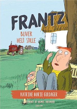 katrine marie guldager – Frantz-bøgerne (5) - frantz bliver helt stille-katrine marie guldager-bog på saxo.com
