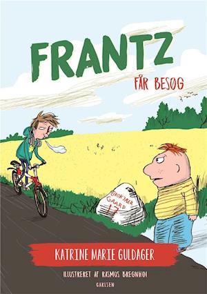 katrine marie guldager – Frantz-bøgerne (2) - frantz får besøg-katrine marie guldager-bog på saxo.com