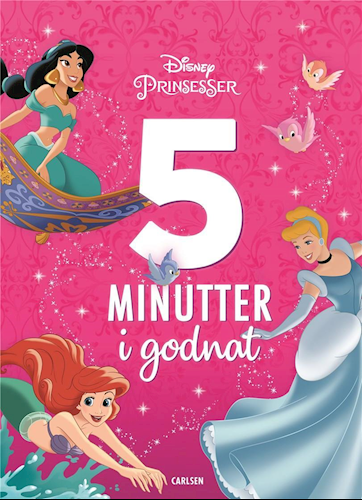5 minutter i godnat, fem minutter i godnat, Disney prinsesser