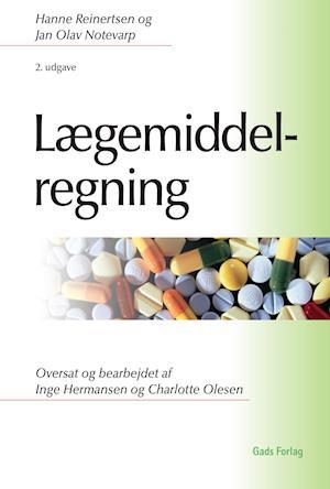 Bog, hæftet Lægemiddelregning af Hanne Reinertsen