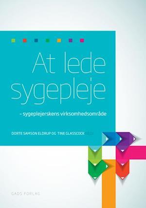 Bog, hæftet At lede sygepleje - sygeplejerskens virksomhedsområde af Dorte Samson Eldrup, Tine Glasscock