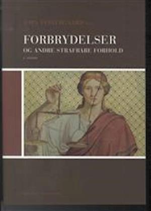 Bog, hæftet Forbrydelser og andre strafbare forhold af Jens Røn, Jørn Vestergaard, Thomas Rørdam