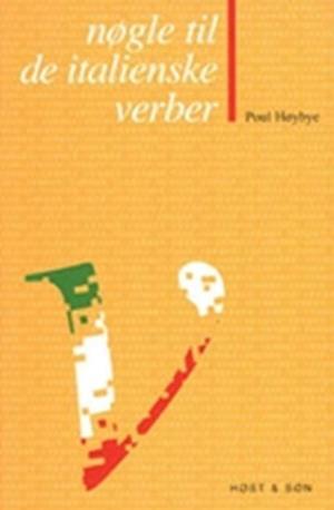 Bog, hæftet Nøgle til de italienske verber af Poul Høybye