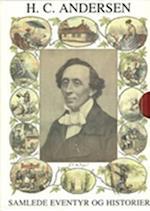 Samlede eventyr og historier med CD Rød af H C Andersen