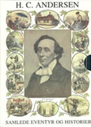 Bog, indbundet Samlede eventyr og historier med CD Blå af H.C. Andersen