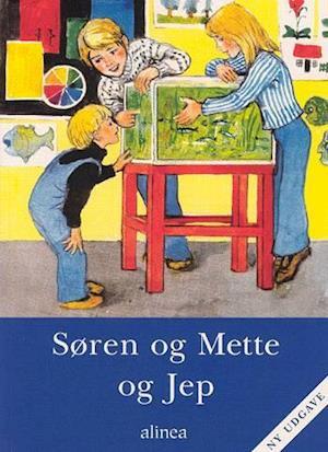 Bog, hæftet Søren og Mette og Jep af Knud Hermansen