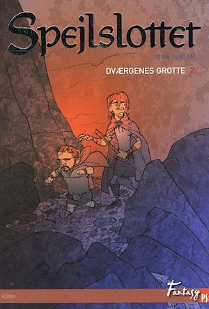 Bog hæftet Dværgenes grotte af Jørn Jensen