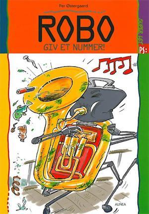 Bog hæftet Robo - giv et nummer! af Per Østergaard