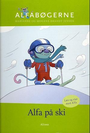 Bog, hæftet Alfa på ski af Marianne Brandt Jensen, Mogens