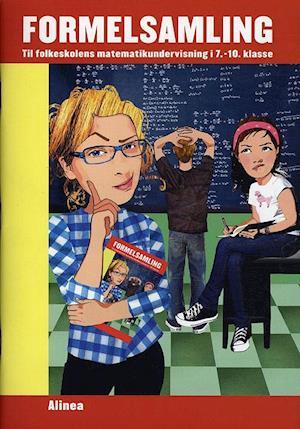 Bog, hæftet Formelsamling - til folkeskolens matematikundervisning i 7.-10. klasse