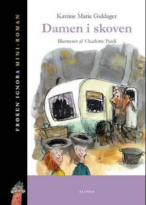Bog indbundet Damen i skoven af Katrine Marie Guldager