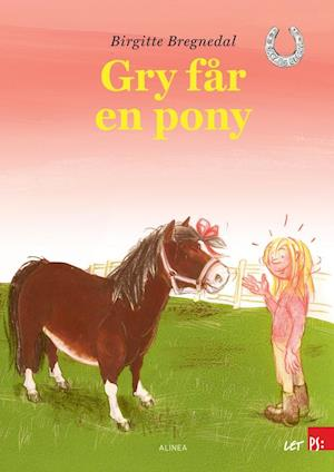 Billede af Gry får en pony-Birgitte Bregnedal-Bog