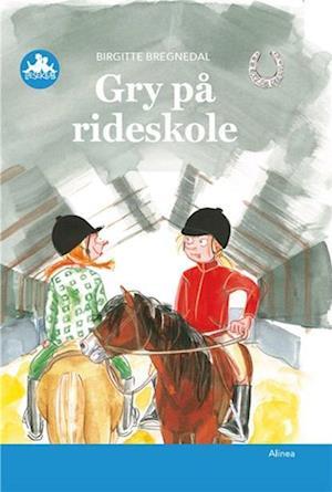 Billede af Gry på rideskole-Birgitte Bregnedal-Bog