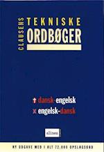 Clausens tekniske ordbøger, Dansk-engelsk/engelsk-dansk, 1-bruger cd (Clausens tekniske ordbøger på cd-rom)