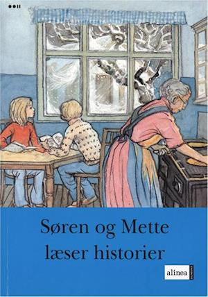Bog, hæftet Søren og Mette læser historier af Knud Hermansen