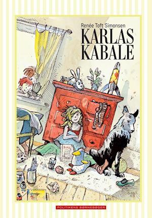 Bog, hardback Karlas kabale af Renée Toft Simonsen