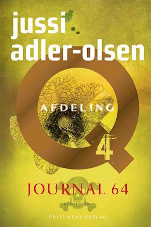 Bog, hardback Journal 64 af Jussi Adler-Olsen