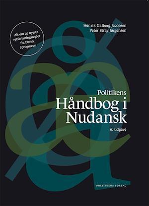 Bog, indbundet Håndbog i nudansk af Galberg Jacobsen, Stray Jørgensen