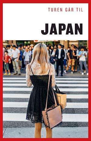 Bog hæftet Turen går til Japan af Mette Holm Asger Røjle Christensen Katrine Klinken