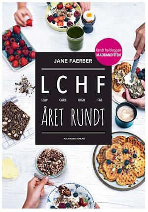 Bog, hæftet LCHF året rundt af Jane Faerber