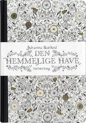 Bog, indbundet Den hemmelige have - notesbog af Johanna Basford
