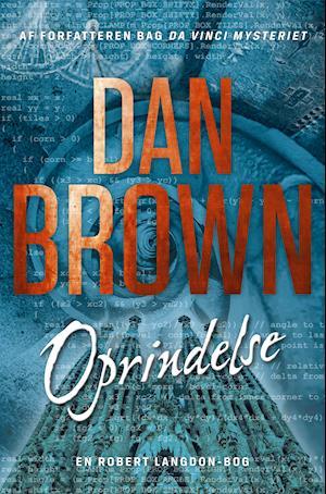 Bog, indbundet Oprindelse af Dan Brown