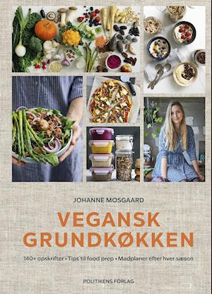 Vegansk grundkøkken-Johanne Mosgaard-Bog