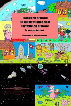 Fortæl en historie ti illustrationer til at skrive en historie