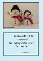 Hæklet snemand opskrift af Maybritt Laisbo