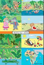 Malebog dyr i Afrika